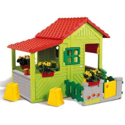 Smoby Berchet Speelhuisje Floralie Speelhuisjes Speelgoedwinkel