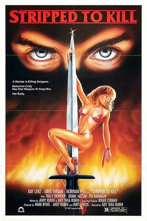 Image result for STRIPPED TO KILL 1987 poster