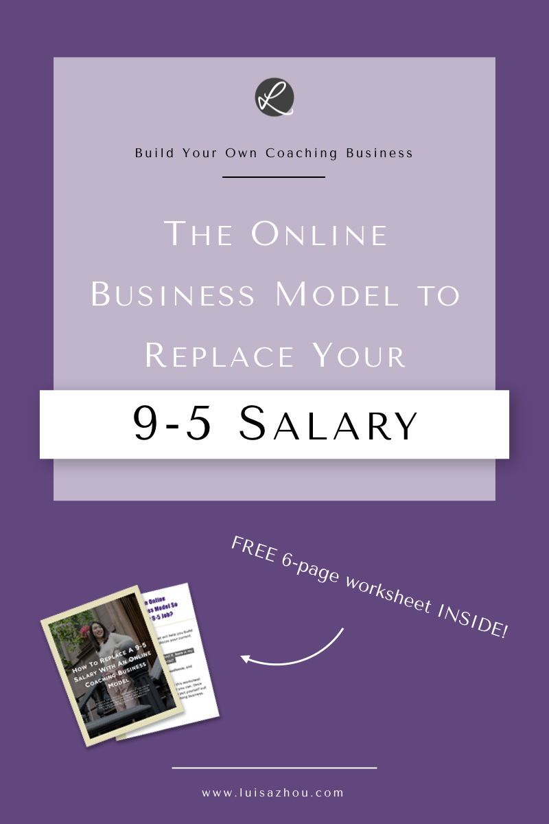 The online coaching business model to replace your 9-5