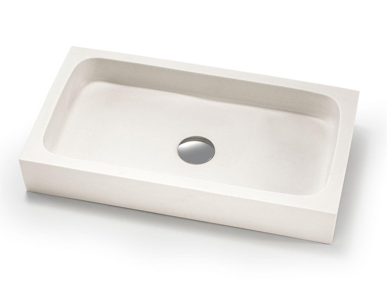 lavabo d'arredo circe resina-carrara - iperceramica | lavabi bagno ... - Arredo Bagno Carrara