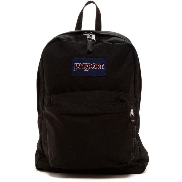JANSPORT Superbreak Backpack ($30) ❤ liked on Polyvore featuring ...