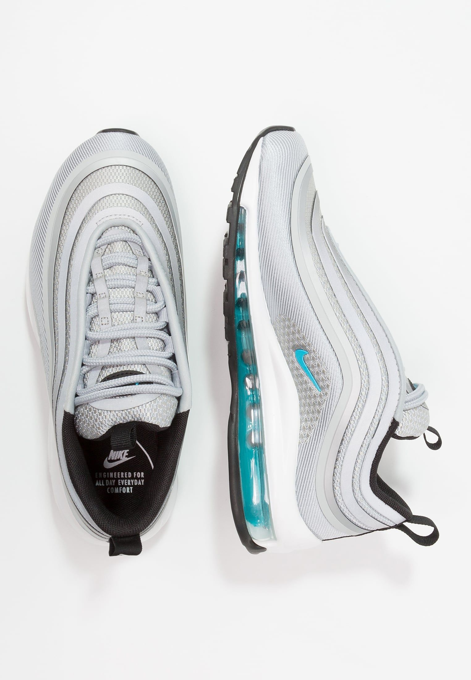 newest 15215 3c2ce Nike Sportswear W AIR MAX 97 UL 17 - Joggesko - wolf grey marina blue black  - Zalando.no