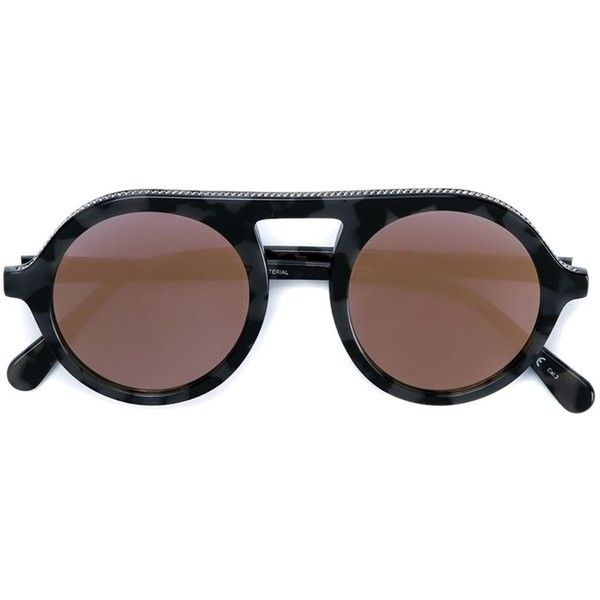round chain tortoise sunglasses - Grey Stella McCartney ssjEKuPu