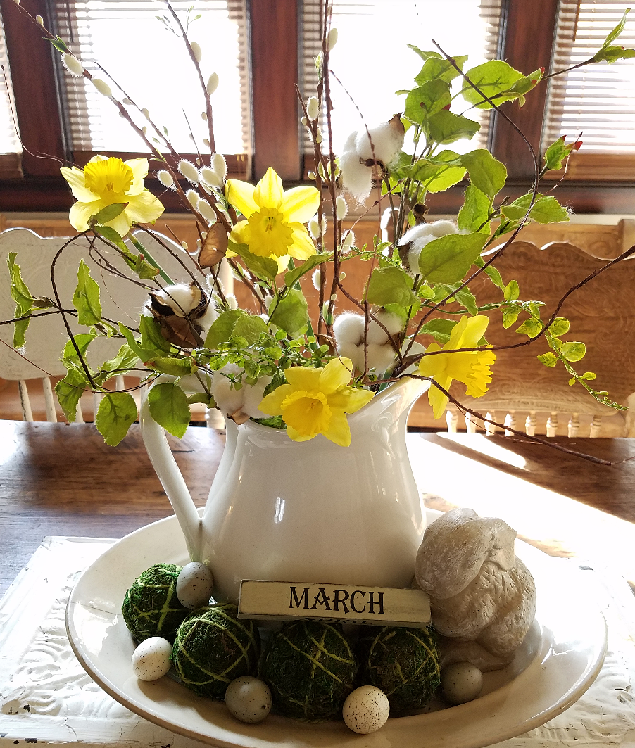 Beautiful Early Spring Home Tour Spring And Easter