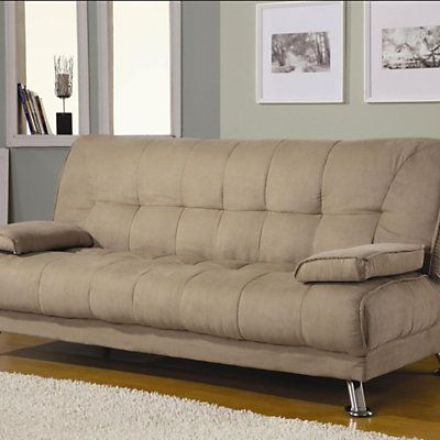 Brody Microfiber Sleeper Sofa Smartfurniture Com Smart Furniture Contemporary Sofa Bed Sofa Bed Furniture Fabric Sofa Bed