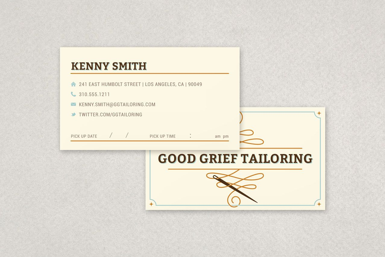 Professional Tailoring Business Card #seamstress #quilting ...