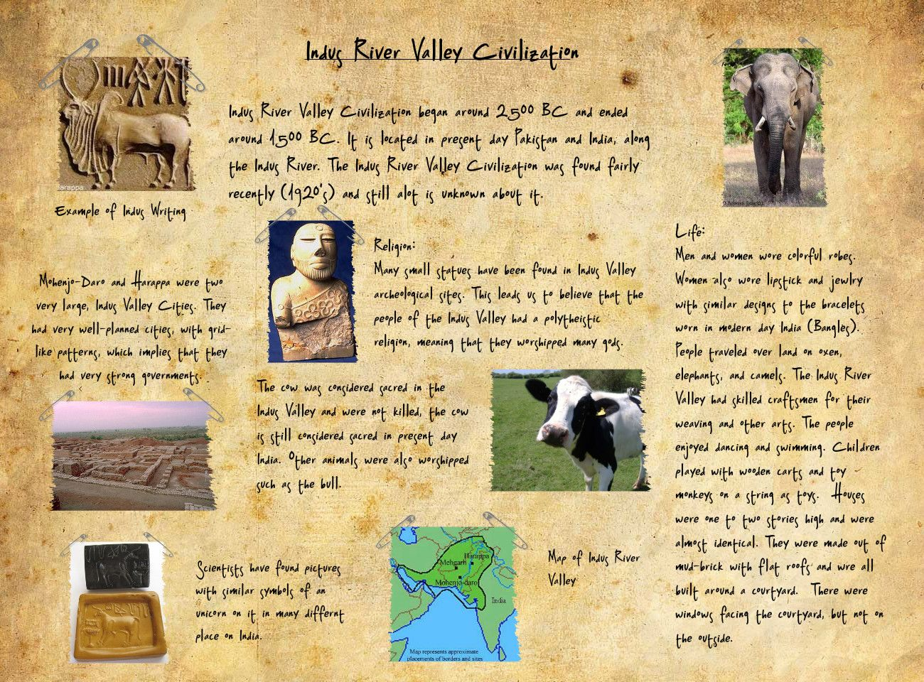 Essay on the Indus Valley Civilisation | Indian History