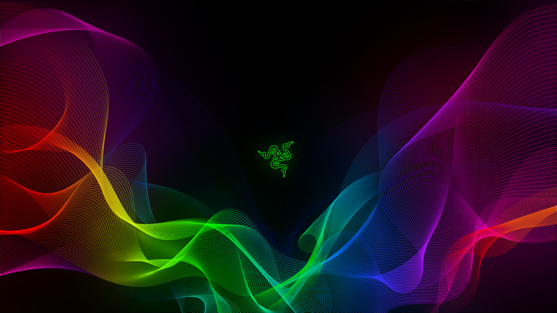 Download 1920x1080 Razer Abstract Waves Sync Wallpapers For Widescreen Wallpapermaiden In 2020 4k Wallpapers For Pc Live Wallpaper For Pc Wallpaper Pc