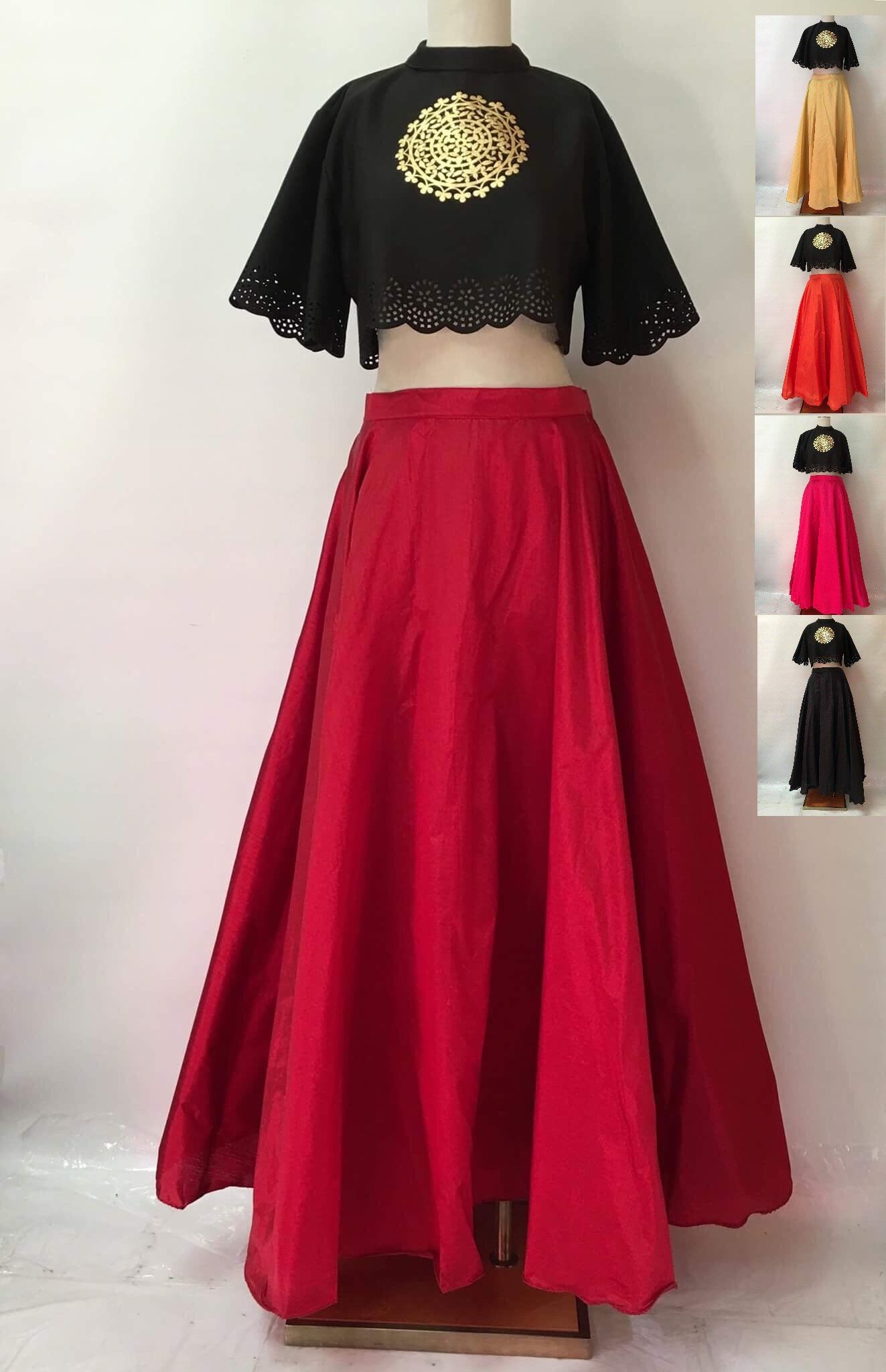 c043373e5 Flared Mini Skirt Online India | Saddha