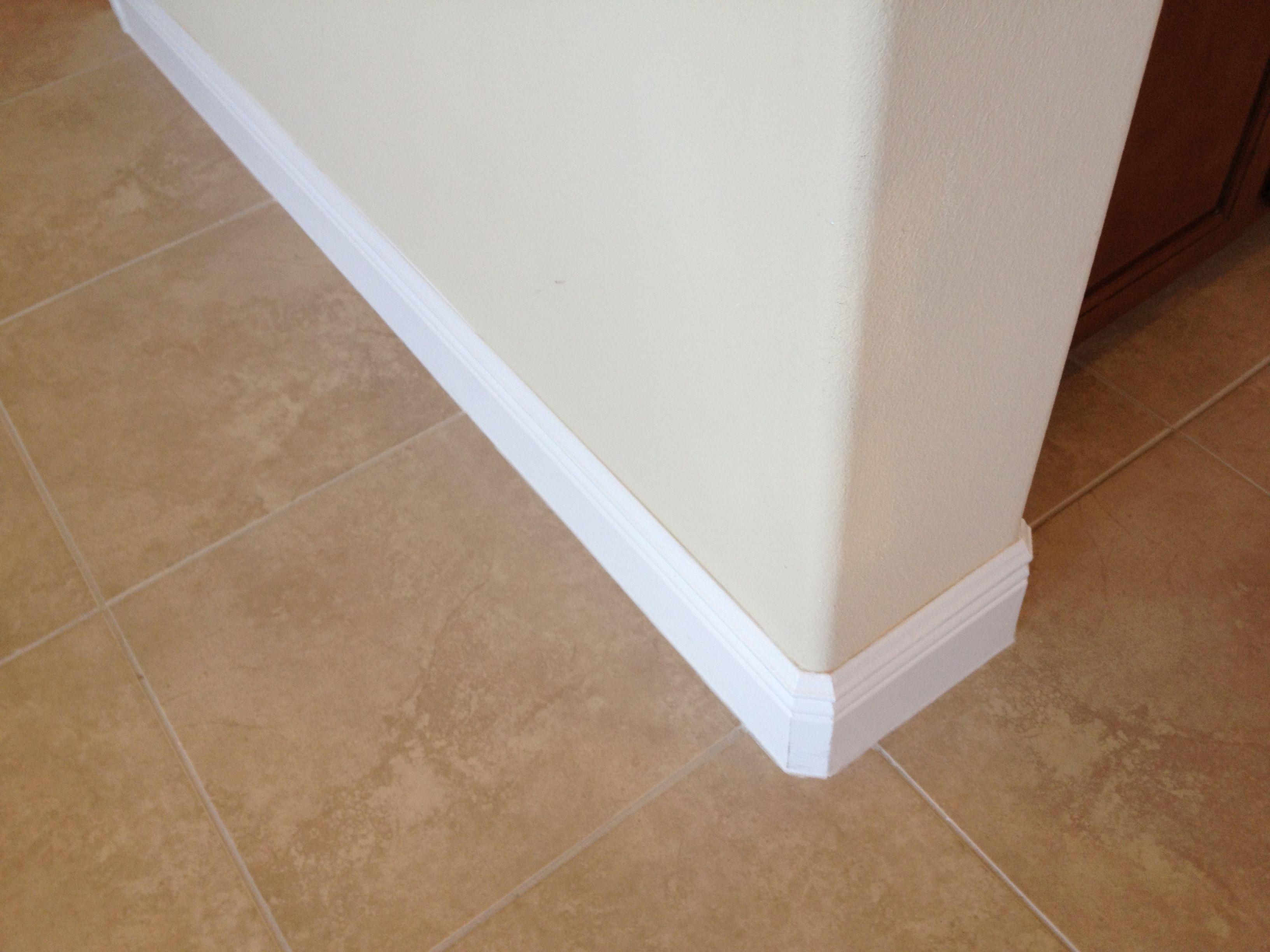 5 14 Baseboard And Tile Flooring Carmel Grande 12 Pinterest