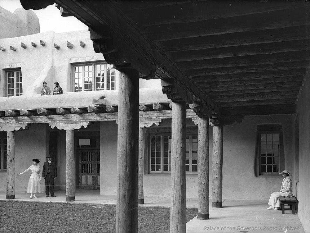 patio fine arts museum museum of new mexico aka new mexico museum rh pinterest com