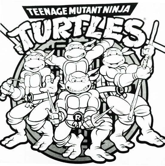 Teenage Mutant Ninja Turtles Colouring In Page Ninja Turtles Birthday Party Teenage Mutant Ninja Turtles Birthday Party Teenage Mutant Ninja Turtle Birthday