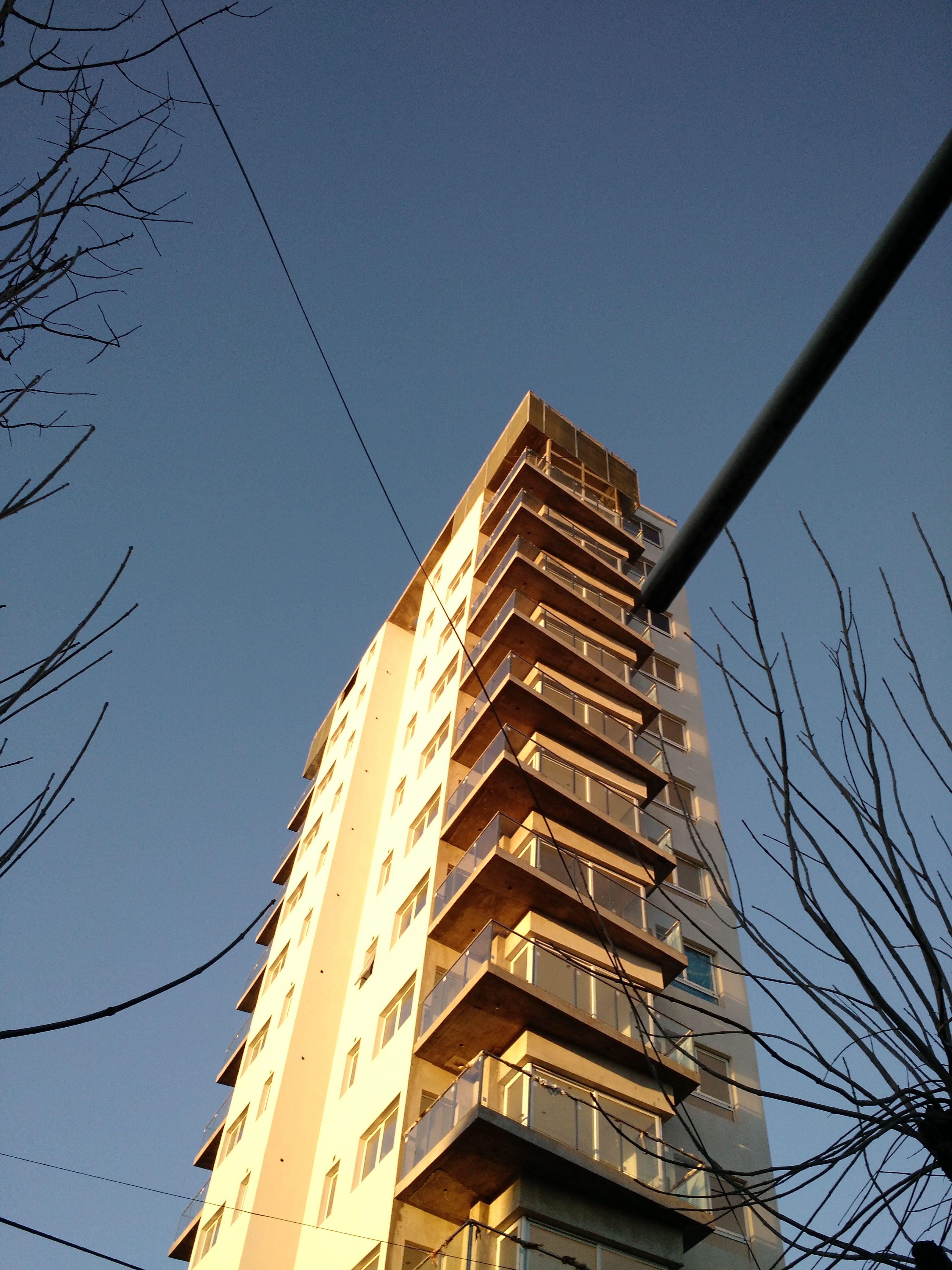 Barandas de Acero y Vidrio laminado, Frente y contrafrente, 12 pisos ...