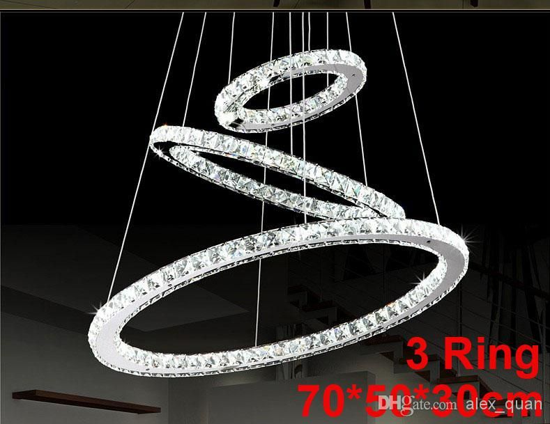 Whole Crystal Chandelier Led Re Lighting Modern Dining Room Pendant Lamp Living