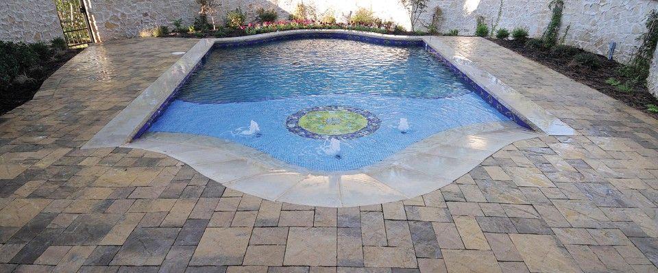 pool deck gallery | pavestone | pool deck | pinterest | decking