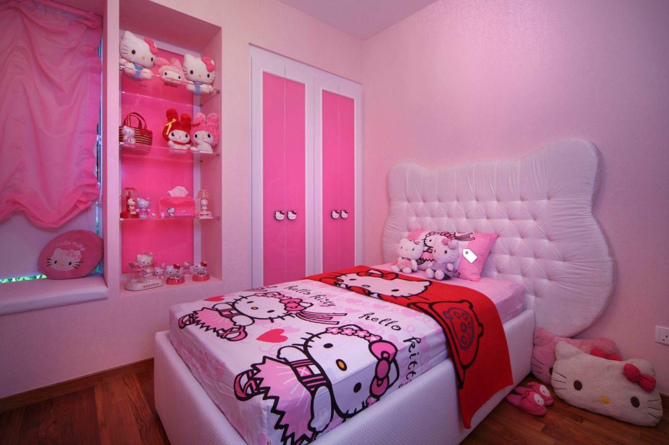 Dekorasi Dinding Kamar Hello Kitty Cek Bahan Bangunan Pernak pernik kamar hello kitty