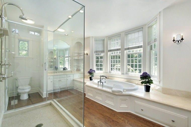 Baño con ducha y bañera baños Pinterest Searching