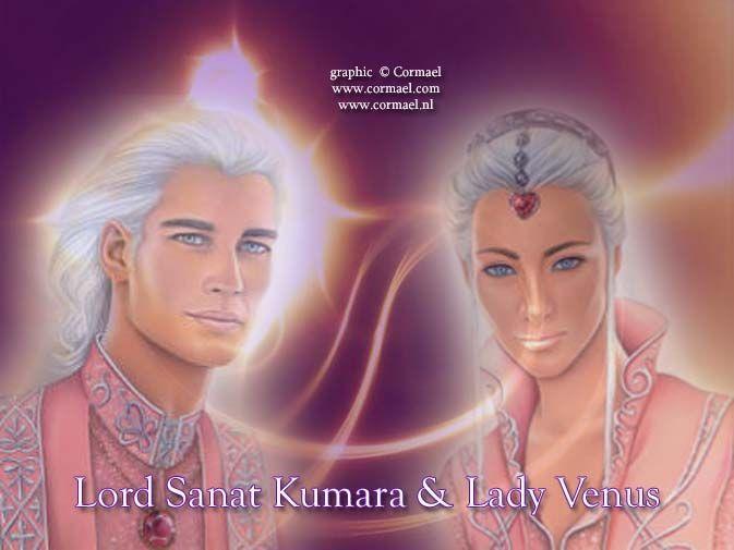 Lord Sanat Kumara and Lady Venus