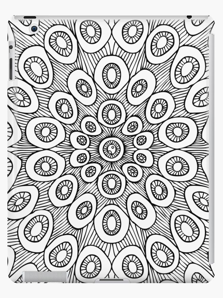 Digital Doodle Made With Aseprite Using A Mouse Vectorized In Illustrator Also Buy This Artwork On Phone Cases Doodles Mandala Iphone Case Coloring Pages