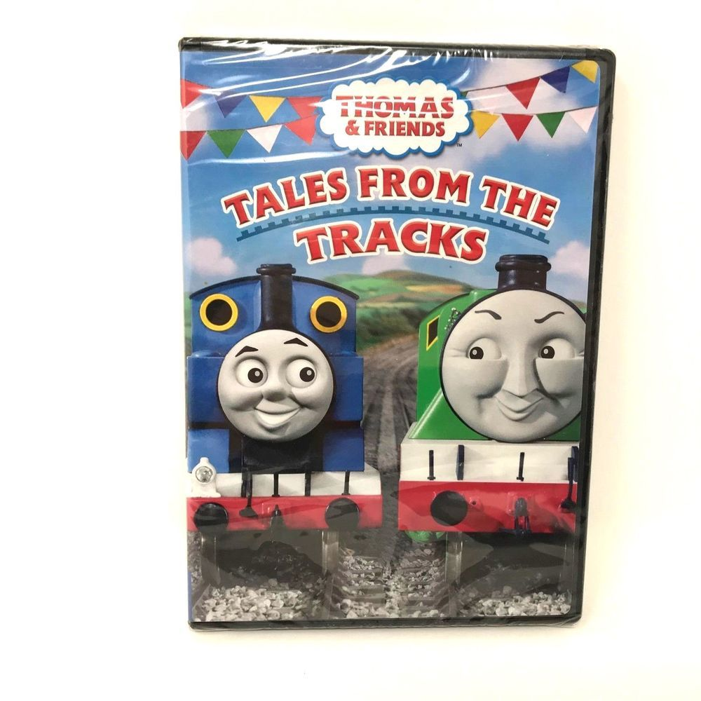 2006 Thomas And Friends Tales From The Tracks Dvd Children