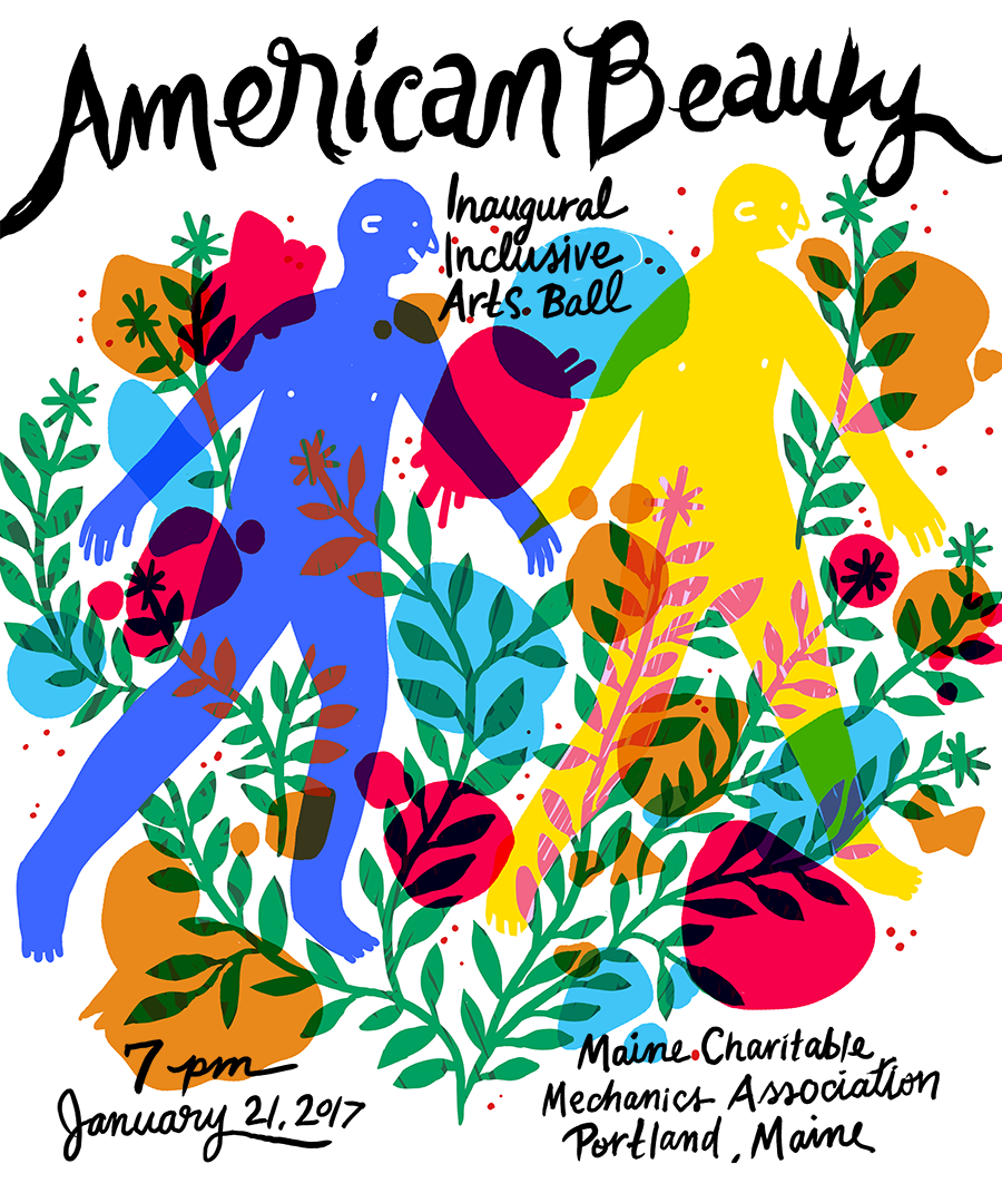 """American Beauty"" Poster by Sophie Cangelosi for Speedwell"