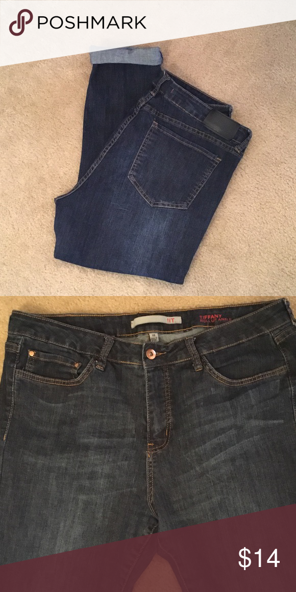 c8728b2d137739 SALE🌈!iT Tiffany Roll Up Ankle Skinny Capri Jean Gently worn. Good  condition. Very cute! iT Other