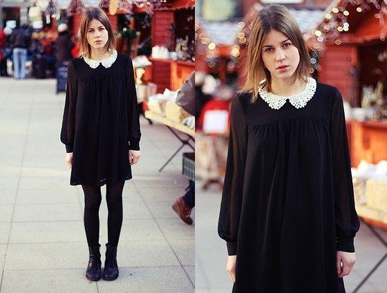 cute collar dress WANT