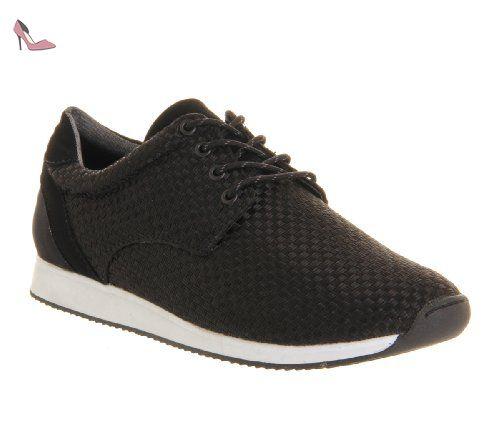 Camille, Sneakers Basses Femme - Noir - Schwarz (Black), 37 EUVagabond