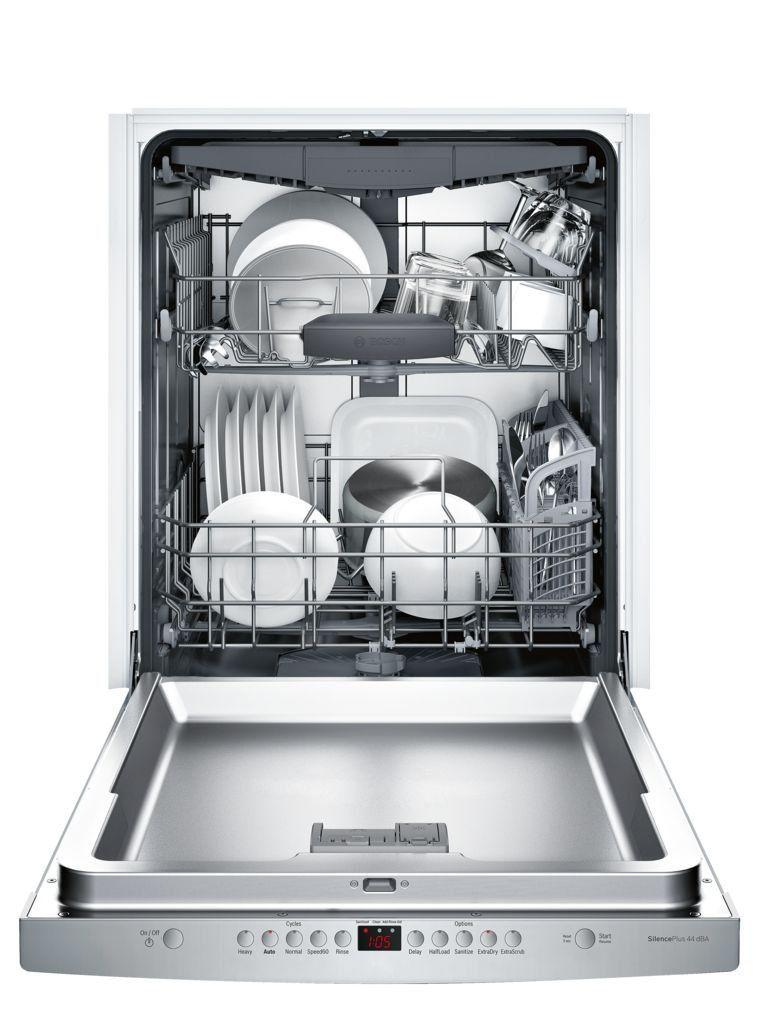 Bosch 300 Series Dishwasher Stainless Steel Steel Tub Integrated Dishwasher Fully Integrated Dishwasher