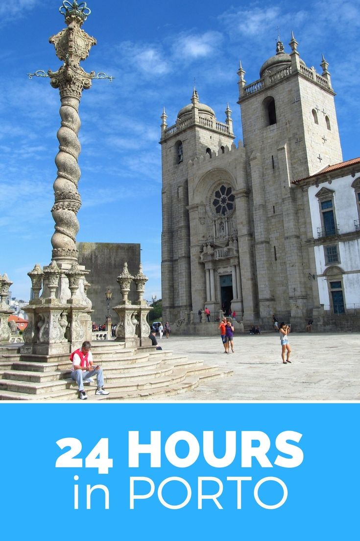 Isn't Porto (in Portugal) just beautiful? If you'd like to visit, but don't have a lot of time: this is how to spend 24 hours in Porto and see all the important sites ánd live like the locals.