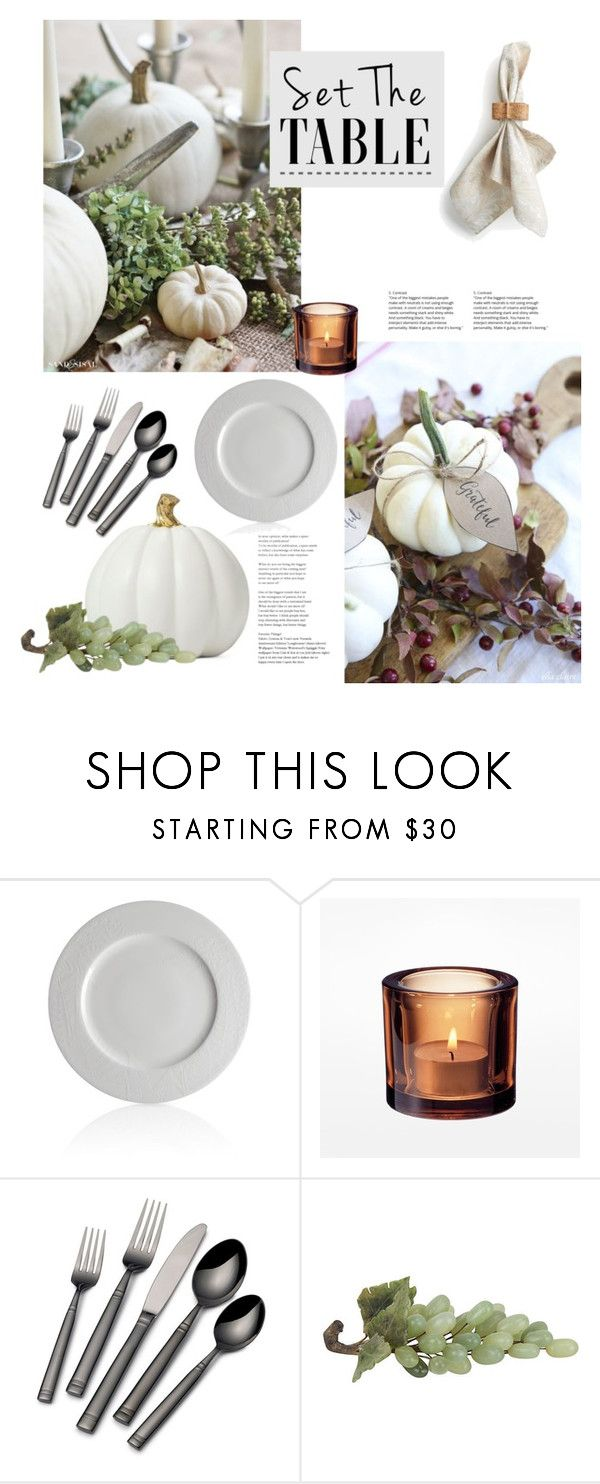"""""""Set the Table"""" by catchsomeraes ❤ liked on Polyvore featuring interior, interiors, interior design, home, home decor, interior decorating, Caskata, Towle, Juliska and setthetable"""