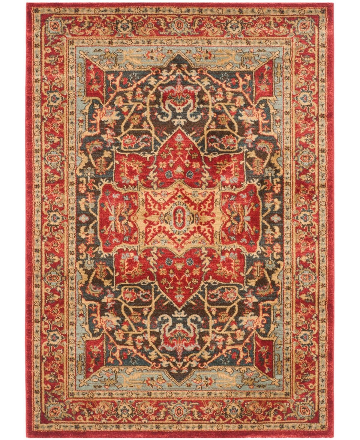 Safavieh Mahal Red 10 X 14 Area Rug Red Area Rugs Rugs Safavieh