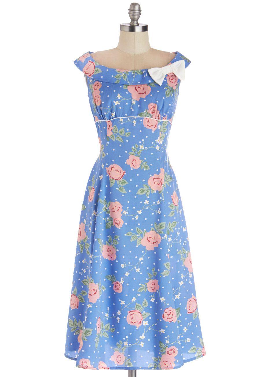 Pastel Petals Dress