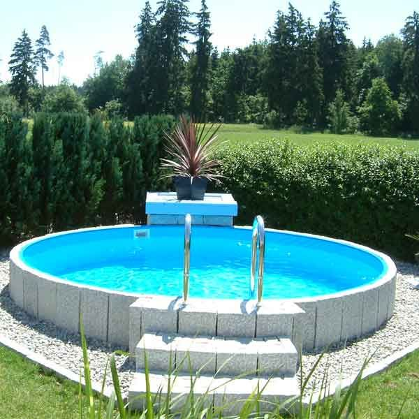 Future Pool Rundbecken Set Fun 420 x 120 cm #budgetbackyard