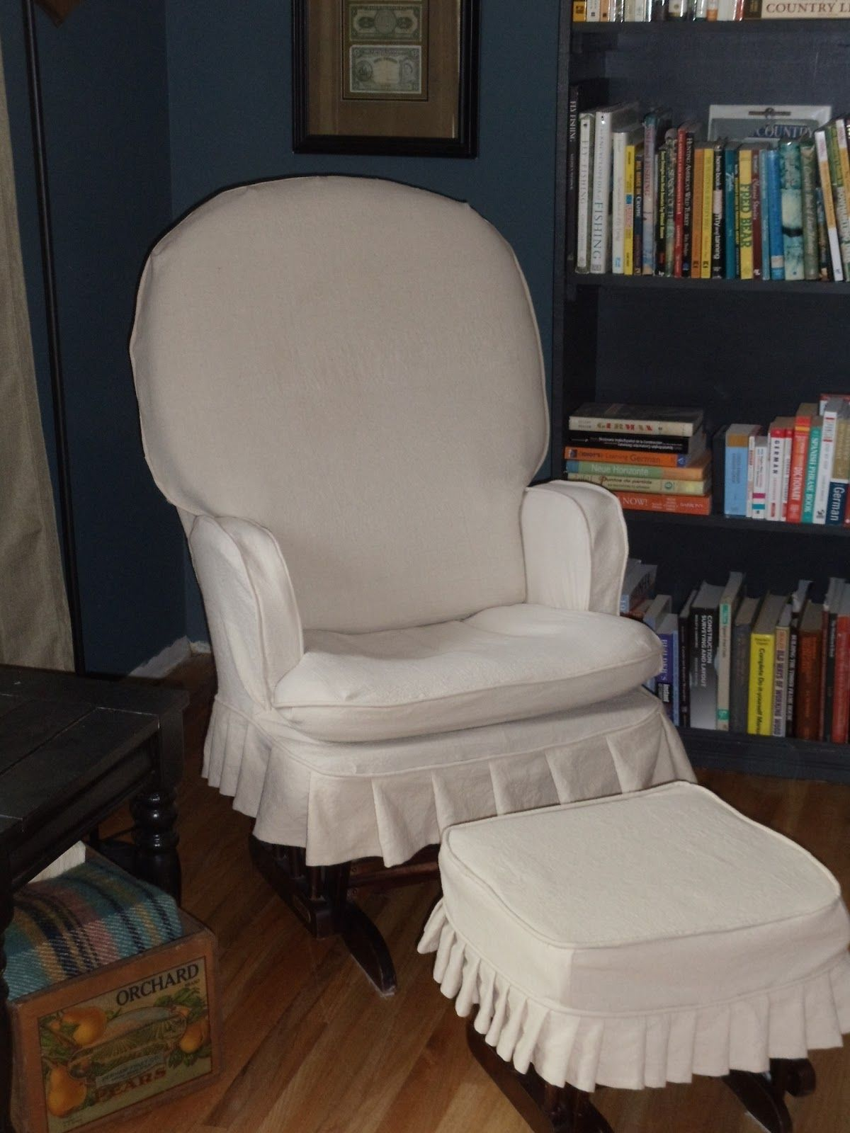 Slipcovers For Glider Rocking Chairs Slipcovers For