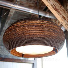 Ohio32 – hængelampe af pap
