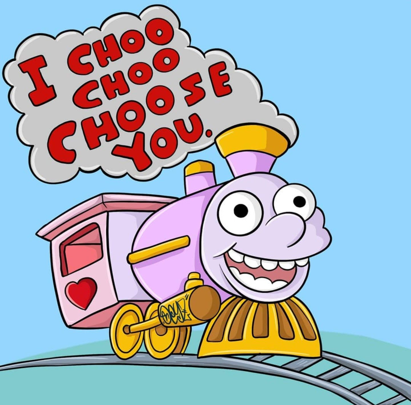 Ralph Wiggum I Choo Choo Choose You The Simpsons Los Simpsons Fondo De Pantalla Colorido Dibujos