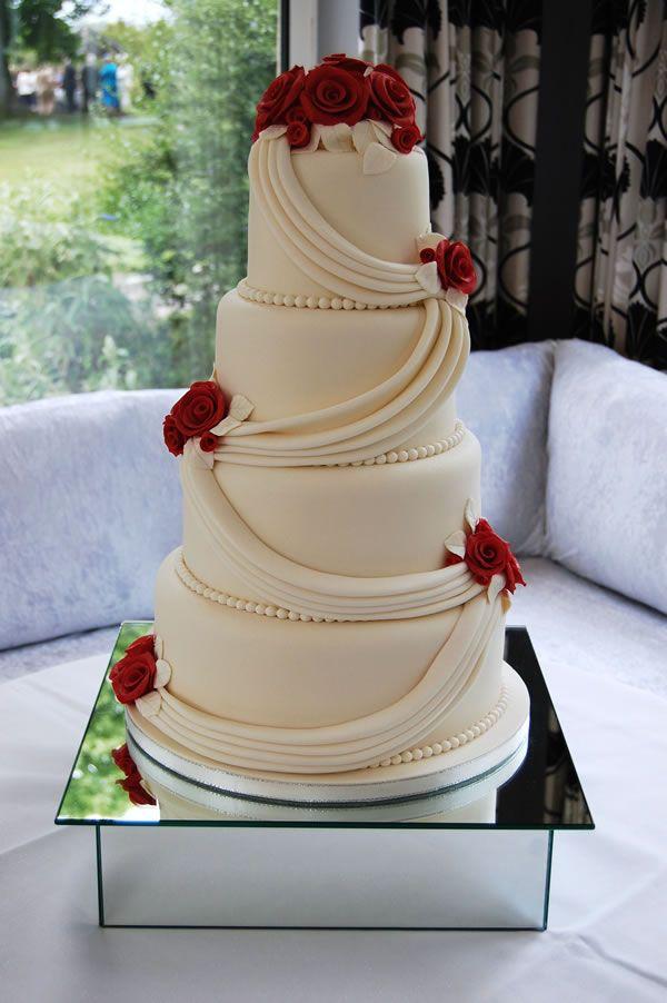 4 Tier Wedding Cake Price Band
