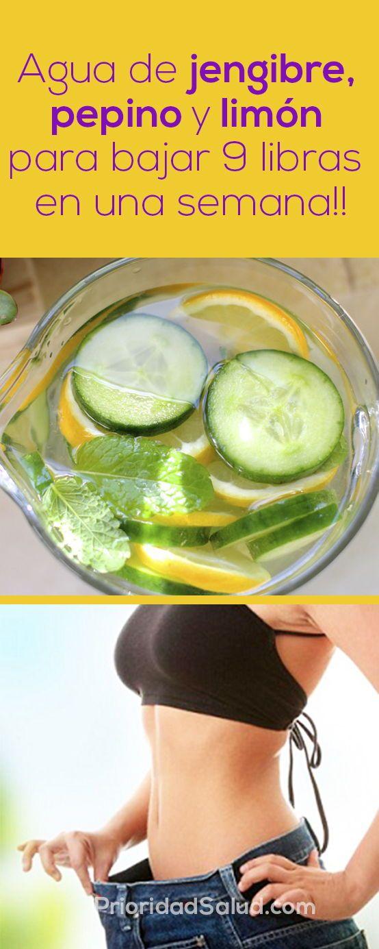 Bajar de peso en una semana con limon