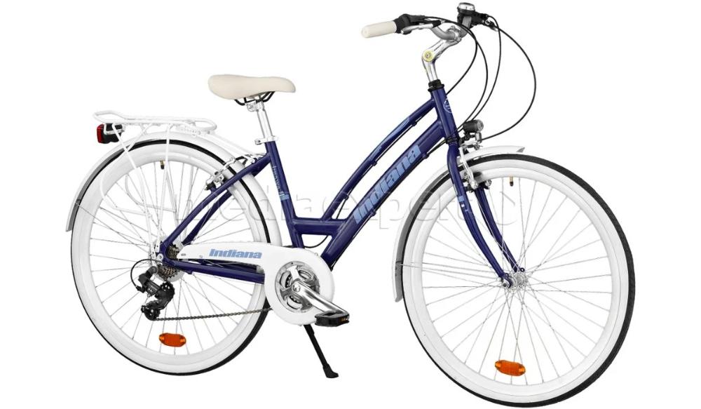 Indiana Brawa 28 21b Granatowy Rower Miejski Ceny I Opinie W Media Expert Bicycle Indiana