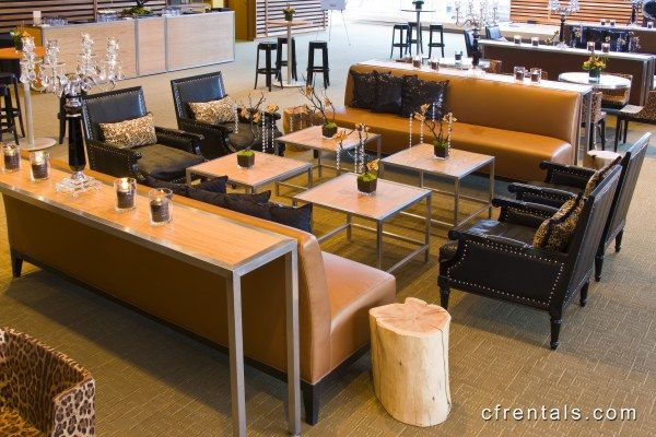 with contemporary furniture rentals style your event however you