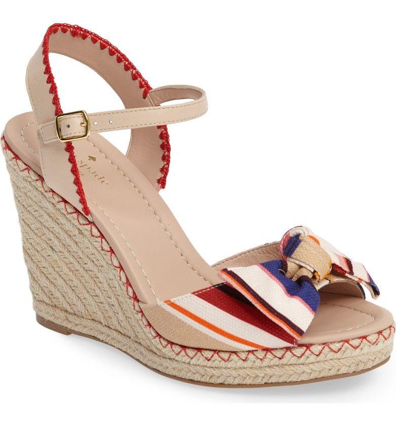 9537042f7b0f Main Image - kate spade new york jane espadrille wedge sandal (Women ...