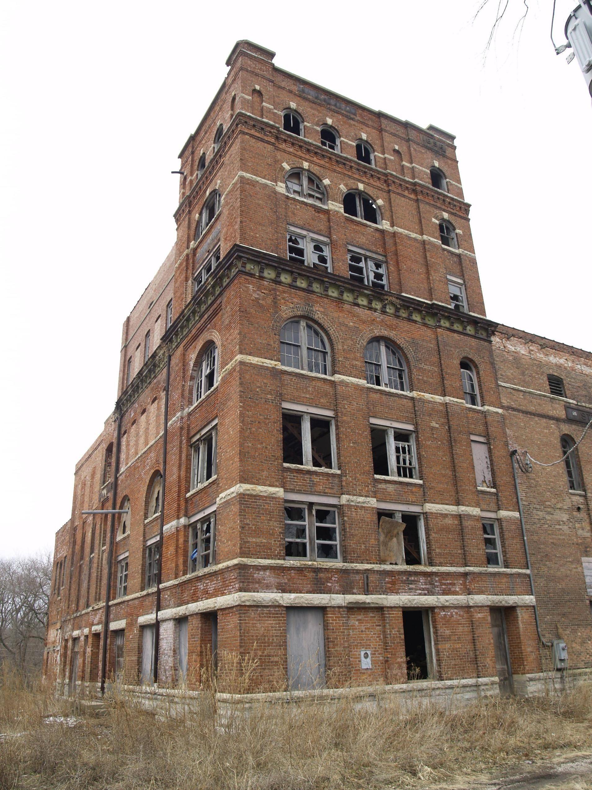 Abandoned Gebhard Brewery Morris Il