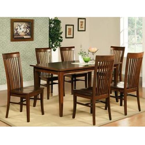 Aarons   Steve Silver Espresso Dining Table Set
