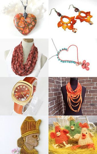 ORANGE OR ORANGE by designstyle on Etsy--Pinned with TreasuryPin.com