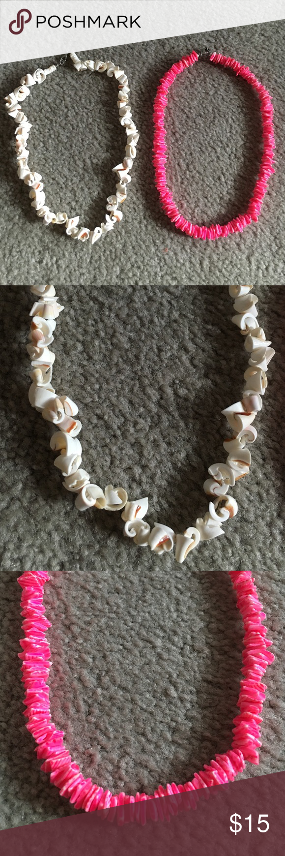 Shell Necklaces New. Never worn. Not UO just for exposure Urban Outfitters Jewelry Necklaces