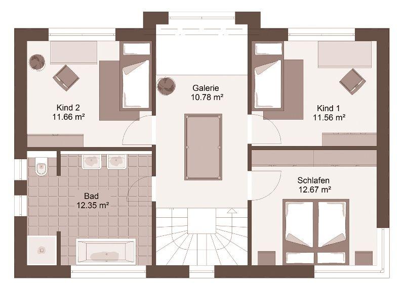 Stadtvilla GENO LivingStar 12 - Haus Grundriss | Grundrisse ...