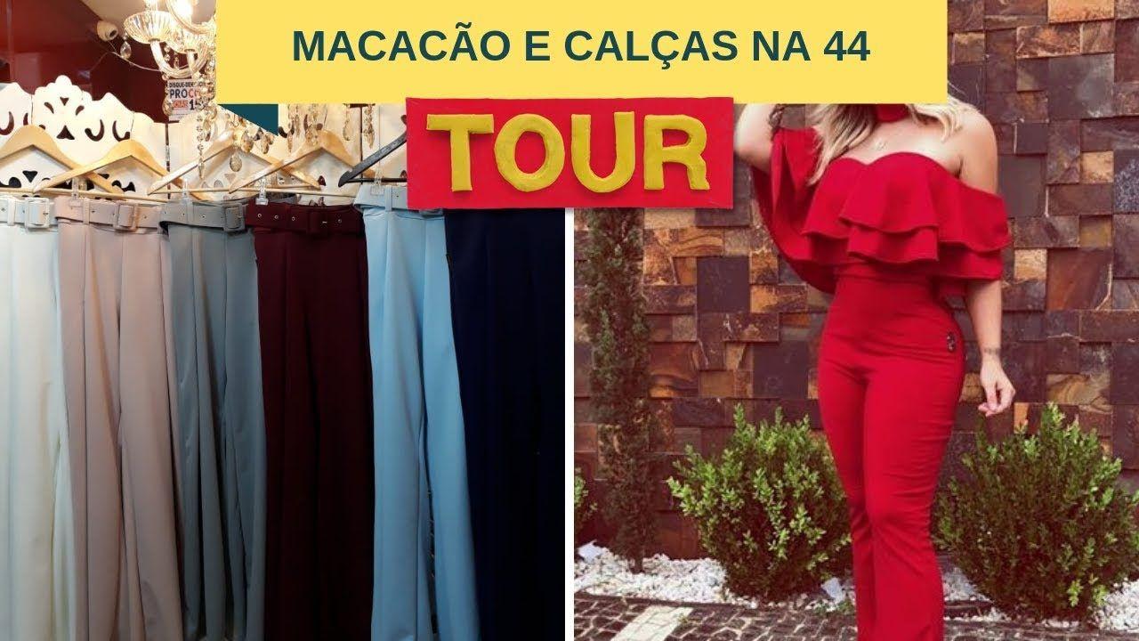 cbe4caf59 MACACÃO E CALÇAS CHIQUES NA 44 GOIÂNIA