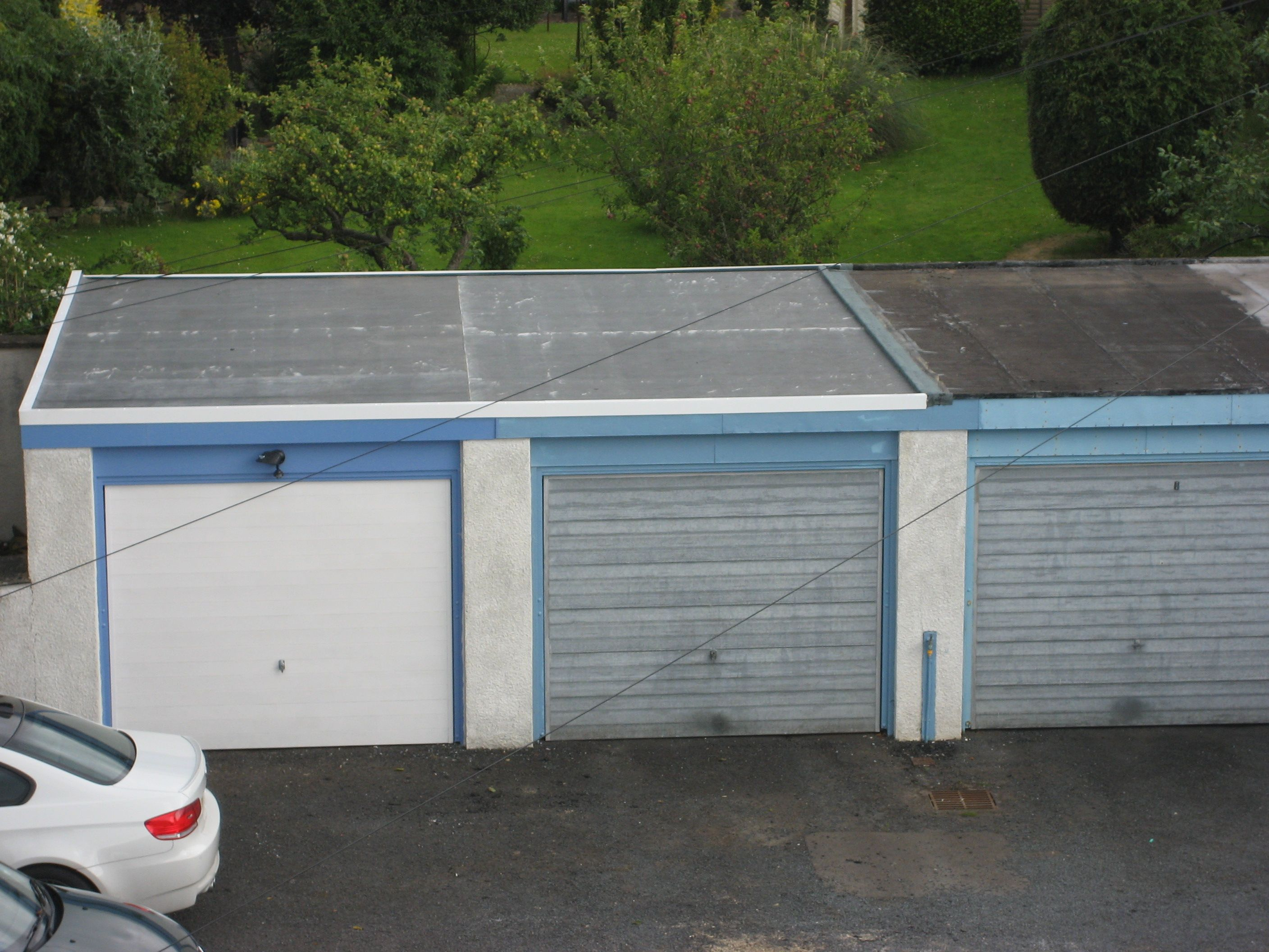 Best Double Garage Doublegarage Flat Roof Repair Flat 400 x 300