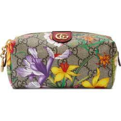 Photo of Ophidia Gg cosmetic bag with flora print Gucci